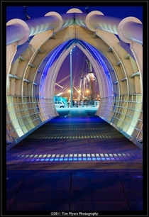 Princess Dock Footbridge Liverpool