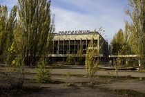 Pripyat Ukraine main plaza