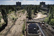 Pripyat Ukraine site of the infamous Chernobyl incident