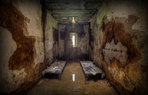 Prison room for two Holmesburg Prison  x