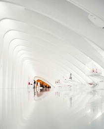 Pristine Hallways of the Milwaukee Art Museum