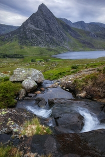 Probably my favourite view of Britains favourite peak Tryfan Ogwen valley Snowdonia Wales