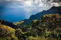 Probably the most beautiful view Ive ever experienced Puu O Kila Lookout Kauai