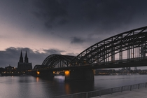Probably the most iconic view of Cologne Germany