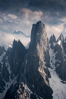 Probably the most impressive peaks of the Dolomites