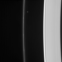 Prometheus Handiwork Cassini imaging released Mar