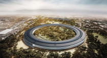 Proposed design of Apples new headquarters in Cupertino - FosterPartners