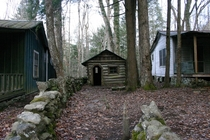 Proto-Tiny-House in a Logging Village Smoky Mtns TN