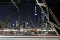 Proud of this second edit of an old photo of Toronto Canada