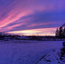 Proud to have these Canadian sunrises
