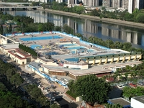 Public swimming pool complex Hong Kong