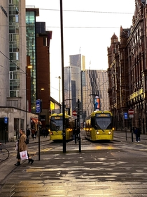 Public transport in Manchester UK
