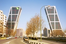Puerta de Europa offices Madrid Spain