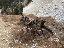 Pump Found near old mine in Wasatch National Forest near Midway Utah