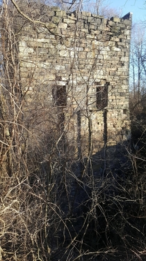 Pumphouse at the abandoned Ueberroth zinch mine in Freidensville PA At one point it housed the largest pump in the world x