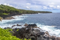 Puna coastline on Hawaii