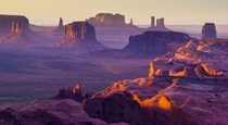 Purple Mesa - Hunts Mesa Monument Valley ArizonaUtah  photo by Francesco Riccardo Iacomino
