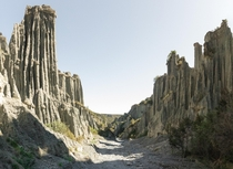 Putangirua Pinnacles Dimholt Road from Lord of the Rings - Cape Palliser New Zealand OC x