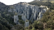 Putangirua Pinnacles - Setting of Dead Mans Army from Lord of the Rings Wairarapa NZ