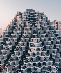 Pyramid of apartments Stella Yan Suzhou China