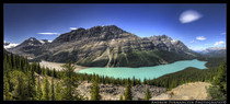 Pyto Lake Canadian Rockies