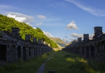 Quarry Workers Barracks in North Wales