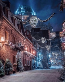 Qubec City During Christmas time