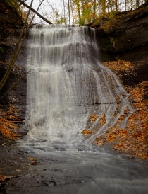 Queen Anne Falls of Northeast Ohio US IG endearingjourney