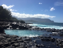 Queens Bath Kauai No Filter Needed  OC