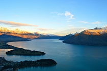 Queenstown lake NZ