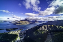 Queenstown New Zealand - Arial View