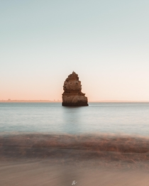 Quiet sunrises on the coastline it doesnt get much better than that Algarve Portugal