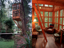 Quiet TreeHouse by Pete Nelson