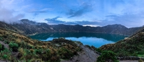 Quilotoa Lake Ecuador Trying to pick up photography as a hobby Would appreciate suggestionstips