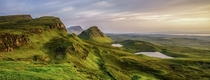 Quiraing Isle of Skye Scotland  by Hugh Ferguson