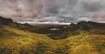 Quiraing Isle of Skye Scotland One of the most breathtaking places Ive ever witnessedeven in winter