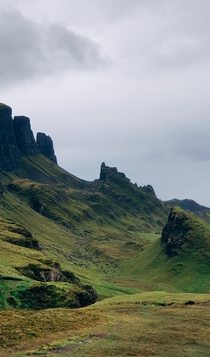 Quiraing Isle of Skye Scottish Highlands