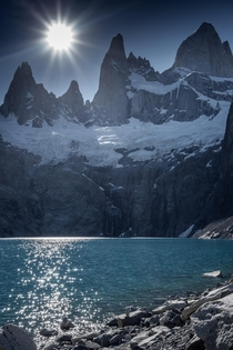 Quit my job - Time to travel - Fitz Roy from Lago Sucia