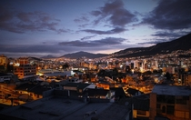 Quito Ecuador last night