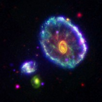 Radical Cartwheel Galaxy