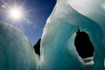 Raider of the ice arch - Franz Josef Glacier New Zealand