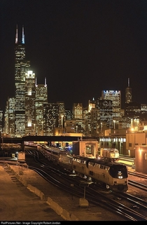 RailPicturesNet Photo AMTK  Amtrak GE PDC at Chicago Illinois by Robert Jordan