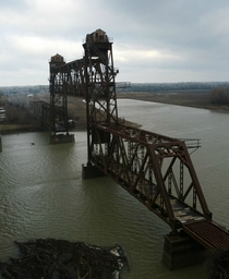 Railroad Drawbridge DeValls Bluff Arkansas