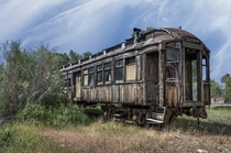 Railroad Passenger Coach - Nevada City Montana Photo by Daniel Hagerman