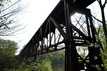 Railroad trestle Grand Ledge MI
