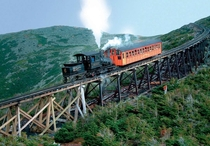 Railway to the Moon - Mt Washington Cog Railway