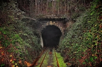 Railway tunnel in North east Tasmania Decommissioned in