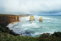 Rain approaching the Apostles Australia  from uaspiramedia in rseaporn