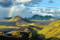 Rainbow and lenticulars in Iceland Photo by Alex Nail