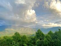 Rainbow over the Smokeys in Gatlinburg TN  x